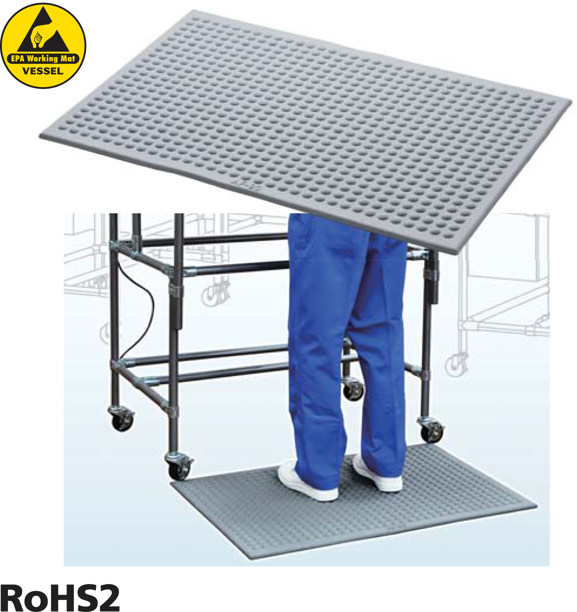 AF-90 RoHS2 AntiFatigue ESD Table Mat